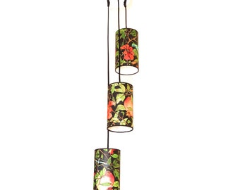 Triple Lamp 20x12 Pomegranate Tree collection