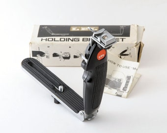 LPL Folding Camera Flash Holding Bracket  Boxed with Instructions
