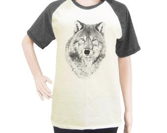 Wolf shirt top trending shirt women t-shirt men t-shirt short sleeve t-shirt size S M L