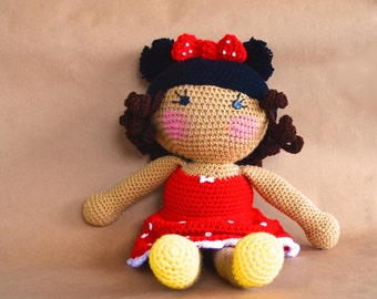 customizable mouseketeer doll