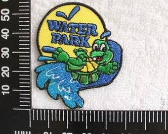 Water Park and Turtle Iron on Patch CD104