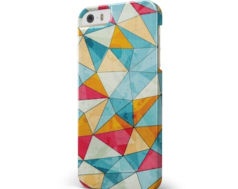 Triangular Geometric Pattern - iNK-Fuzed Hard Case for the Apple iPhone - Samsung Galaxy & More