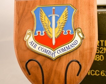 Air Combat Command Plaque - ACC Militaria - Air Force Collectible - USA Collectible