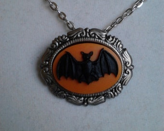The Return Of Halloween Bat necklace/brooch