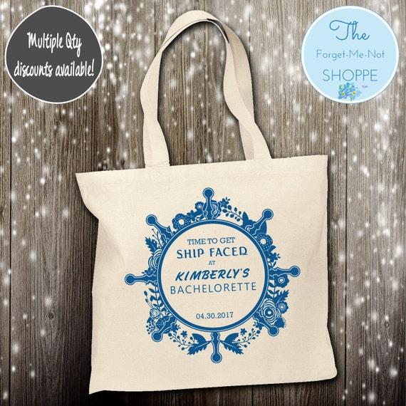 Bachelorette Party Wedding Canvas Tote Bags, Bachelorette, Wedding Favor Bags,Bridal , Married, Gifts, Favors, Bridesmaids, ship faced