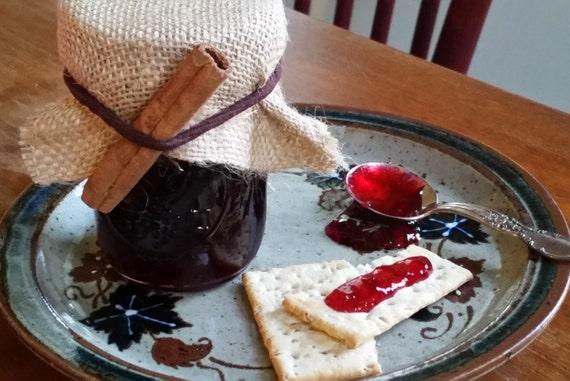 Spiced Cranberry Cabernet Jam: 4 oz. Jar