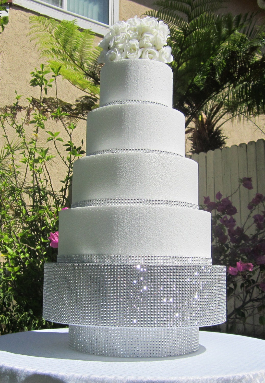 18 Round Square Wedding Cake Stand Pedestal Riser