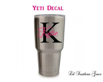 "Shop ""monogram for yeti cup"" in Office"