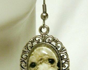 Poodle earrings - DAP07-155