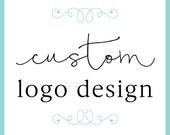 Custom Logo Design for your business / logo design for small business / etsy shop logo design / typography logo