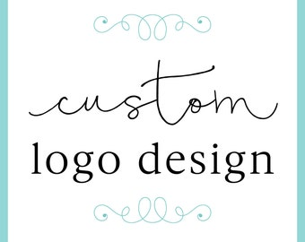Custom Logo Design for your business / logo design for small business / etsy shop logo design / typography logo