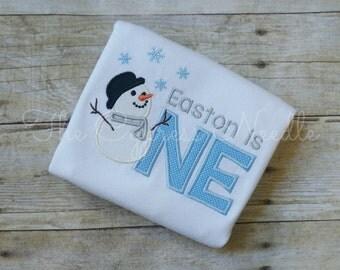 Snowman First Birthday Shirt, Winter Onederland, Winter Wonderland, Snowman Birthday, Winter Birthday, Snowman Party, Snowflake Birthday