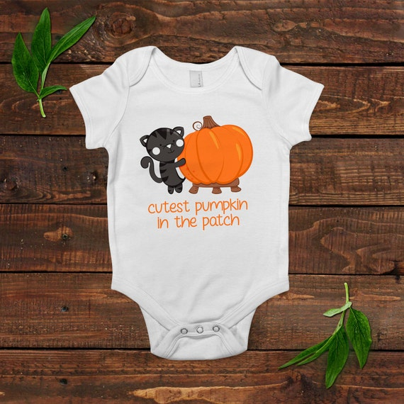 fall baby outfit pumpkin baby bodysuit baby shower gift