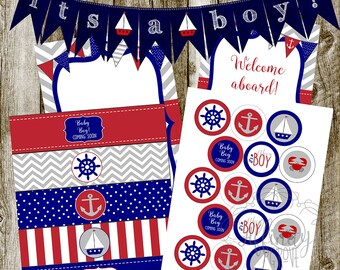 Ahoy! It's a Boy! Baby Shower Package