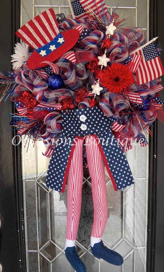 July 4th Wreath