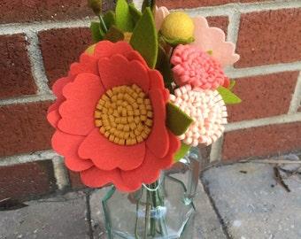 Custom Mix: Felt Flower Bunch