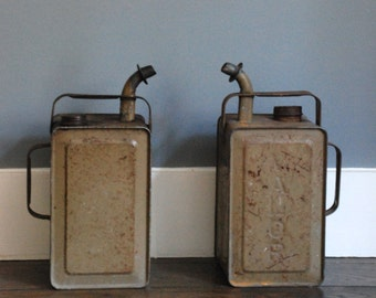 Two petrol cans