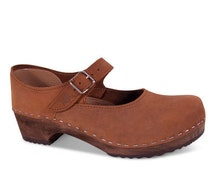 Low heel swedish clogs | Swedish Clogs | shoes | wooden clogs | sandals | clog | swedish | clog sandals | sandgrens clogs | Mary Jane