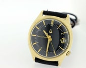 14 karat Gold Filled Accutron Wrist Watch