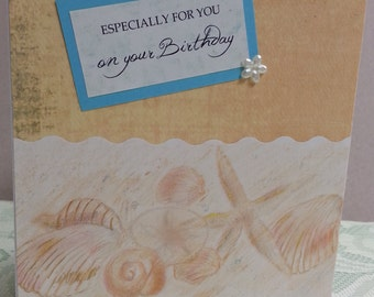 Birthday Card for Anyone Special, Hand Made