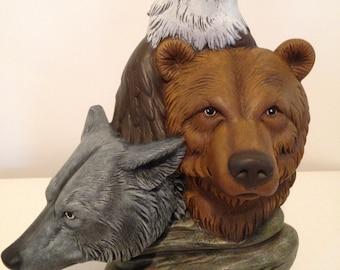 wolf/eagle/bear