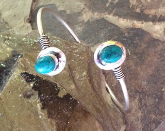 Silver Plated Bracelet,Adjustble Bracelet,Silver Plated Bracelet,Tribal Bracelet,Gemstone,Boho Bracelet,Gypsy Bracelet,Bohemian Bracelet