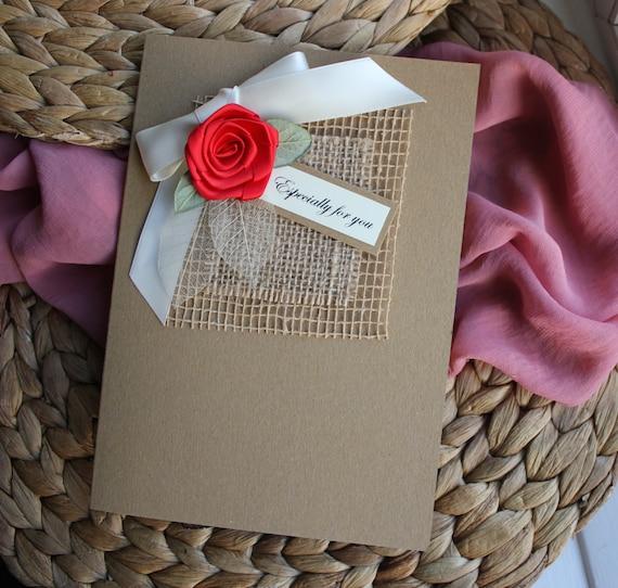 Birthday Card Husband Handmade Personalised Card For Him