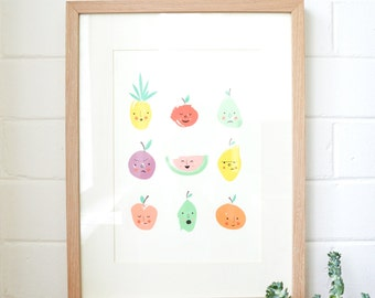 Fruity Emotions Print