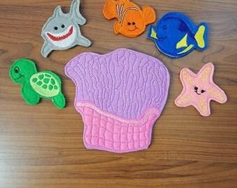 Finding Nemo Finger Puppet Set