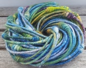Handspun Necklaces - New Longer Length - Set of 3 - Hand-dyed Silk/Wool