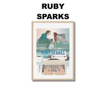 Affiche de film Elle s'appelle Ruby - Poster Jonathan Dayton & Valerie Faris A3