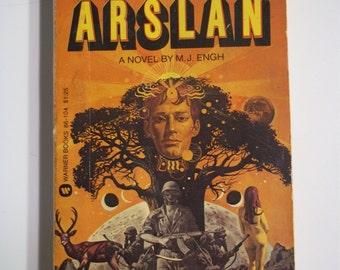 Arslan by M.J. Engh Warner Books 1976 Vintage Sci-Fi Paperback
