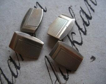 Vintage art deco cuff links