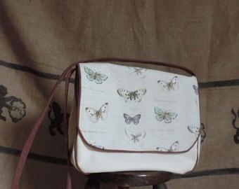 The entomologist handbag, butterfly print