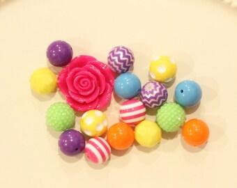 Bubblegum necklace kit