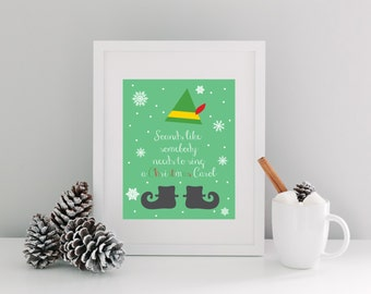 Good Elf Quotes Prepossessing Christmas Quotes From The Movie Elf The Best  Collection Of Quotes