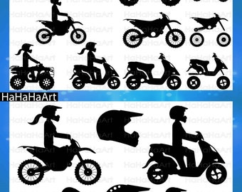Motorcycles and ATV's Monogram - Cutting Files Svg Png Jpg Eps Dxf Digital Graphic Design Instant Download Commercial Use bike fast (00670c)