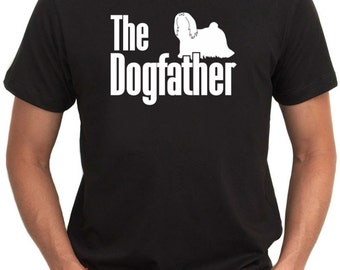 The dogfather Lhasa Apso T-Shirt