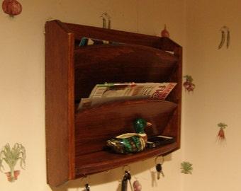 18h Hidden Key Box Amp Mail Organizer By Windywoodswoodcraft