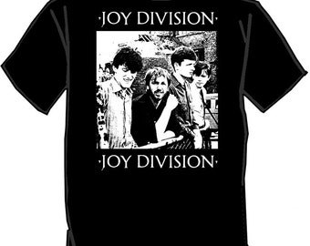 JOY DIVISION silk screened t-shirt screen printed New Order Ian Curtis
