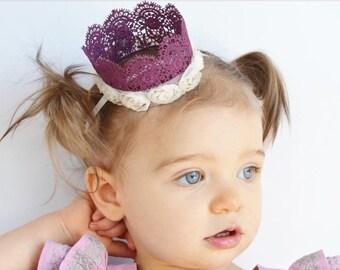 Juliet lace crown
