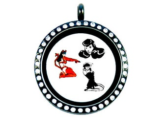 Bettie Paige Floating Charms