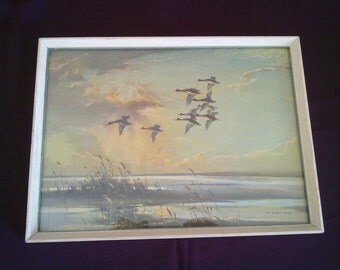 "Vernon Ward Print ""Over the Flats"""