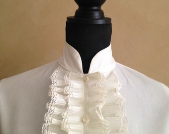 Vintage 70's Ruffled Blouse