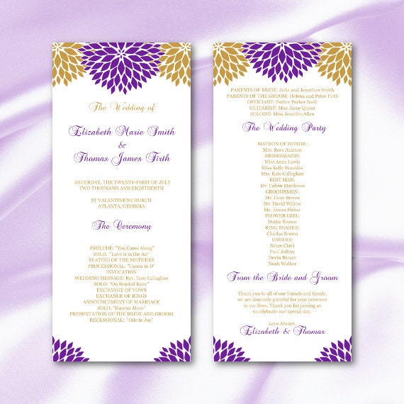 Wedding Program Template Purple Gold Floral Ceremony Tea. Wedding Electric Candles. Traditional Letterpress Wedding Invitations. Wedding Invitations Vineyard. African Wedding Invitations Pinterest. Wedding Reception Venues Brooklyn. Wedding Planner Worth The Cost. Wedding Reception Decorations Simple. Wedding Favour Boxes Black And White