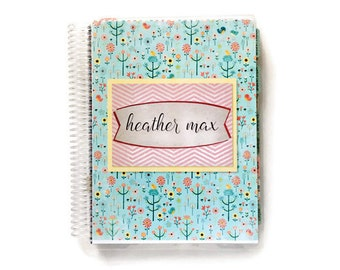 Personal Planner / 2017 Calendar / Agenda - Monthly and Weekly Spreads + Notes section, PP130