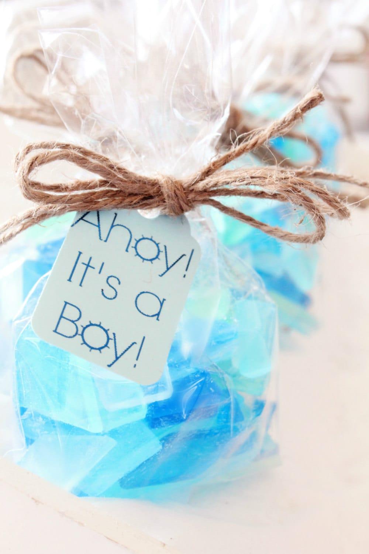 Baby Shower Favors Virginia Beach ~ Beach baby shower favors blue it s