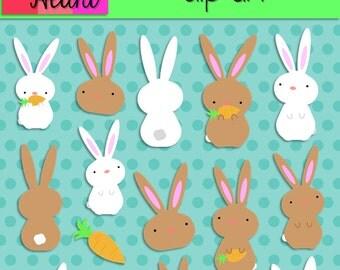 Bunnies Clip Art