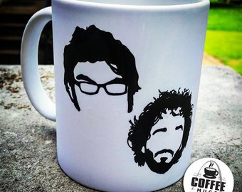 Flight of the Conchords Coffee Mug | Jemaine and Bret Coffee Mug | Flight of the Conchords Gift | Coffee Mugs Never Lie