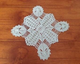 Crochet, small mat, mat for table mat